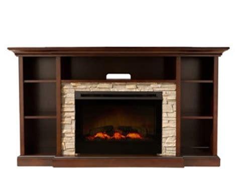 merrick 65 quot tv console w 25 quot electric fireplace