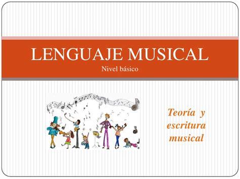 libro teora del lenguaje musical lenguaje musical b 225 sico