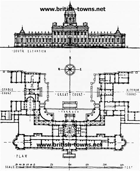 castle howard floor plan castle howard plan of castle howard