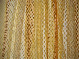 Yellow Brown Curtains Vintage Retro Mustard Yellow Brown Curtains Vintageeye Home Decor On Artfire