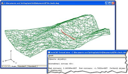 cad studio dtm digital terrain model for autocad