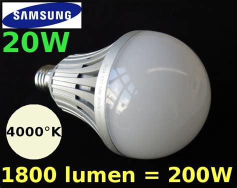 lade a led equivalenti a 100w e27 lada a mezzo bulbo 8cm con led samsung 16w