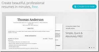 Create Professional Resumes And Share Them Online With Cv