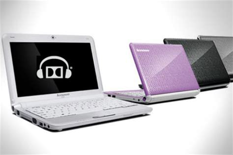 Laptop Lenovo Dolby Lenovo Netbooks Equipped With Dolby Headphone Technology Techgadgets