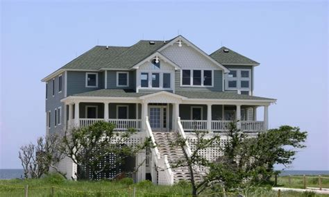 coastal plans raised beach house plans elevated beach house plans