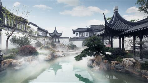 mansion  private island  china   expensive home