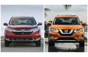Honda Vs Nissan 2017 Nissan Rogue Vs 2017 Honda Cr V To U S