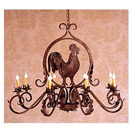 rooster chandeliers wrought iron chandelier rooster chandelier