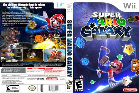 dvd format wii games super mario galaxy nintendo wii game covers super