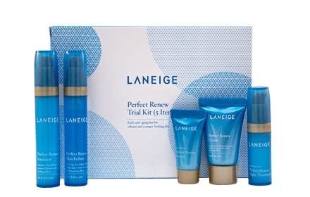 Laneige Renew Trial Kit laneige bộ kit l 227 o h 243 a renew trial kit