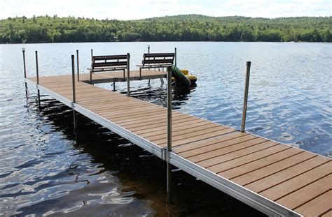 pier vs dock featherlite standard duty aluminum docks