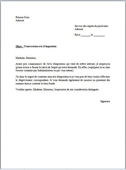 modele procuration impots document