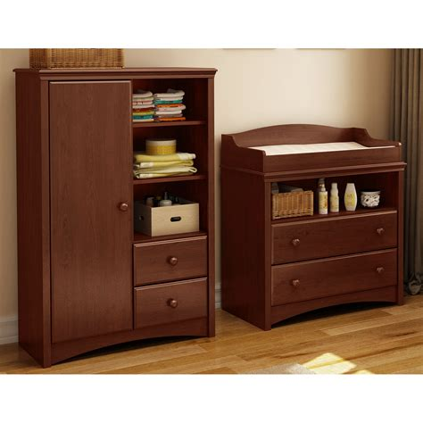 South Shore Sweet Morning Changing Table South Shore Sweet Morning Changing Table And Armoire Changing Tables At Hayneedle