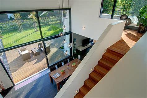 design fertighaus hohes wohnzimmer bild 2 sch 214 ner