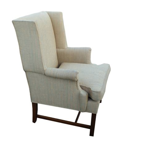 vintage wingback hickory chair lounge arm chair ebay
