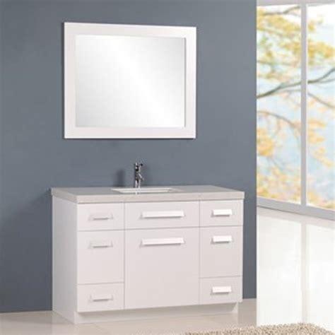 Rissa Set rissa 48 quot single sink vanity set zuri furniture