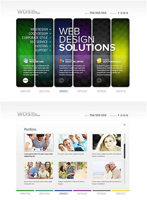 web design html5 template