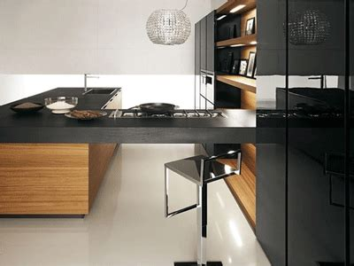 black and wood kitchen cabinets modern kitchen cabinets black white and brown color schemes