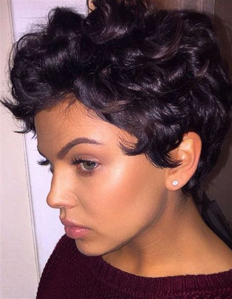 Pixie Cut Roller Curls | shorts curls and curly pixie on pinterest