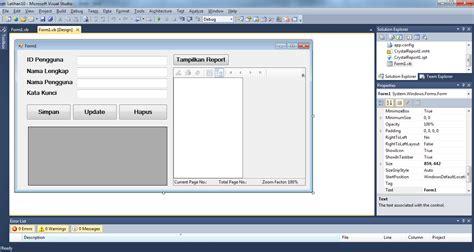 4 Pemrograman Database Dengan Visual Basic 2010 Untuk Orang Awam visual basic net 2010 untuk membuat aplikasi database