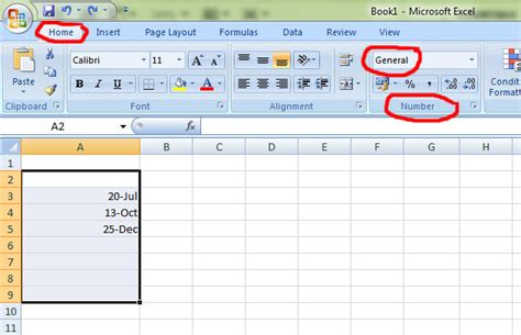 format excel tabs how to format date and time with excel 2010 simon sez it