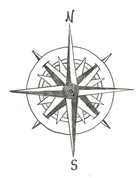 compass tattoo sketch not all who wander are lost banner with compass tattoo