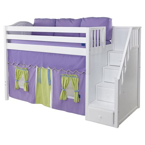 playhouse loft bed playhouse loft bed with stairs myideasbedroom com