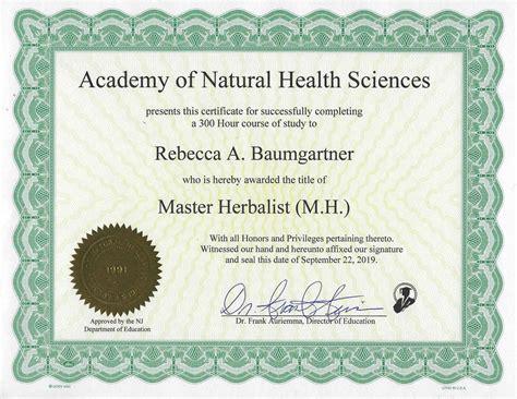 beck baumgartner herbalist holistic health coach
