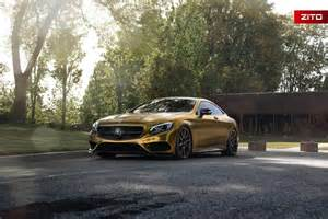 mercedes gold 2016 mercedes s500 coupe looks impressive in gold