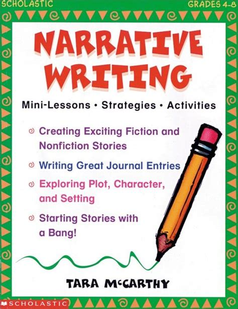 picture books to teach narrative writing 18 best images about narrative writing on