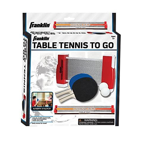 table tennis to go franklin sports table tennis to go sets ping pong indoor