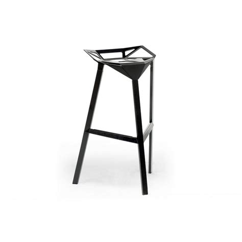 bar stool aluminum kaysa black aluminum modern bar stool see white