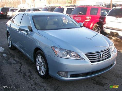 2010 lexus es 350 colors cerulean blue metallic 2010 lexus es 350 exterior photo