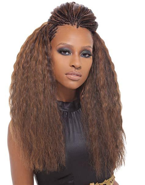 long braids with human hair super french bulk 2pcs