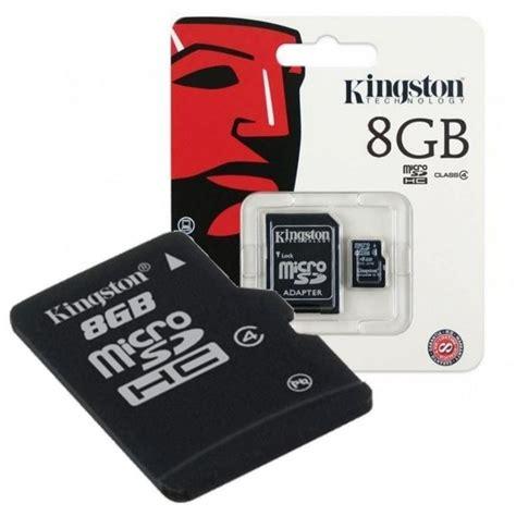 kingston microsdhc 8gb tarjeta microsd
