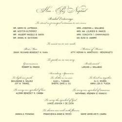 exles of wedding invitations wedding invitation sle gangcraft net