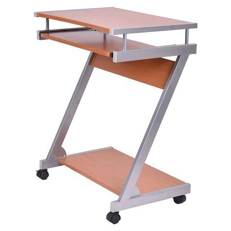 laptop desk station portable rolling computer laptop desk table work station