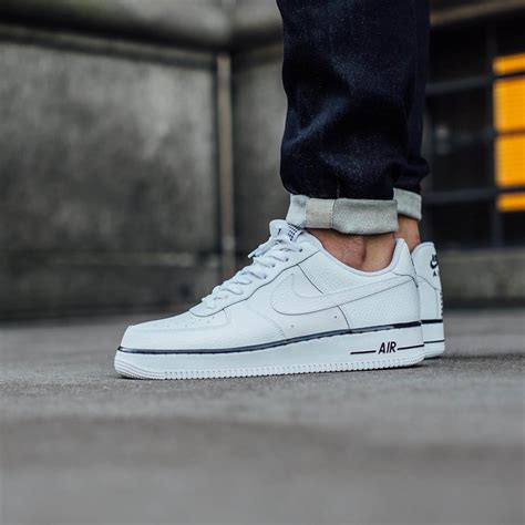 Nike Air 1 And Stripes nike air 1 low white with black foxing stripe
