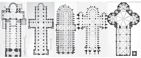 gothic cathedral floor plan cathedrals structural characteristics gothic architecture