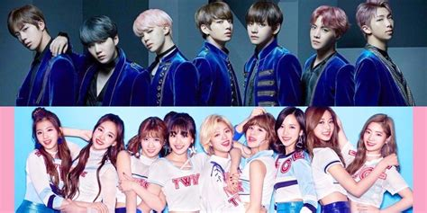 twice and bts bts and twice to perform at japan s music station super live