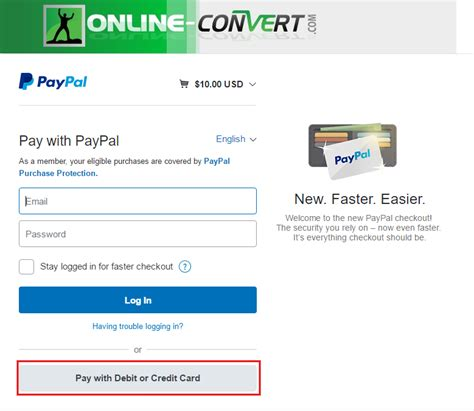 make credit card payment with another credit card how to pay without creating a paypal account file