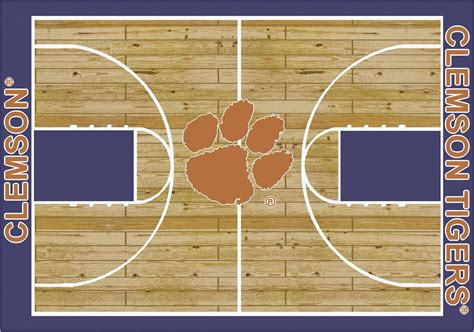 basketball court rugs milliken rugs college basketball court clemson rug college basketball court collection 100