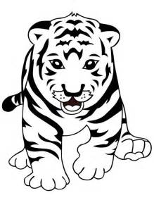 cute tiger cub learn walk properly coloring download amp print coloring pages