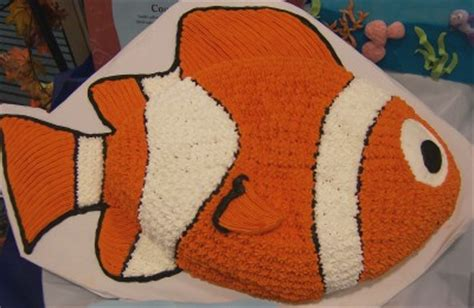 nemo cake template clown fish cake nemo