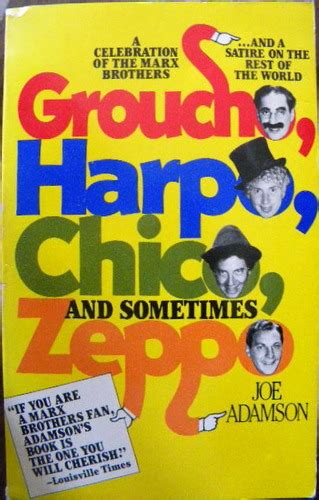 the book of joe the wit and sometimes wisdom of joe biden books groucho harpo chico and sometimes zeppo a history of