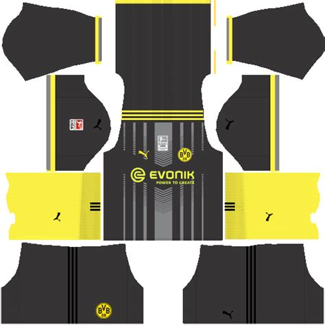 arsenal kit dls 2018 dls fantasy kit borussia set 1 second kit by