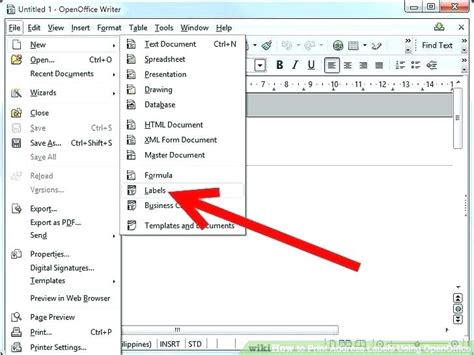 How To Make Address Labels In Excel