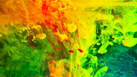 colorful paint fumes wallpaper 1920x1080 full hd