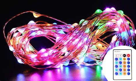 remote string lights remote controlled led string lights led lights