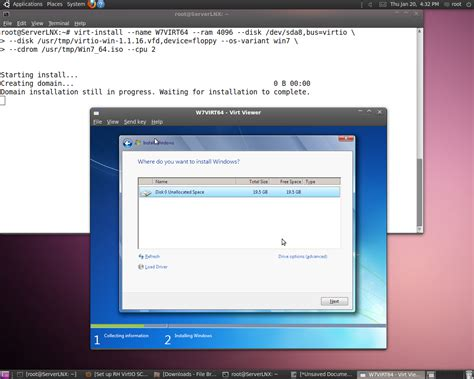 install windows 10 qemu virtio install windows 7 kvm x64 x86 on ubuntu 10 04 1